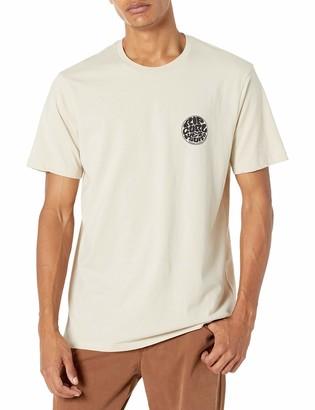 Mens RIPCURL Big Mama Tee White T-shirt RIP CURL CTEGN SALE PRICE