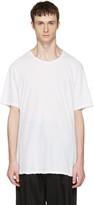 Attachment White Slight Oversized T-Shirt