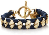 The Limited Ribbon Wrap Tassel Bracelet