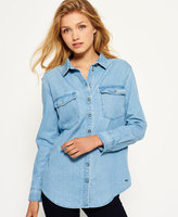 Superdry Oversized Denim Shirt