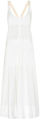 Lee Mathews Elsie cotton-blend dress