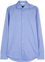 Boss Gregory Blue Cotton Shirt