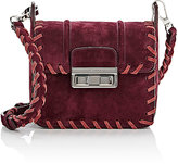 Lanvin Women's Jiji Mini Shoulder Bag-BURGUNDY