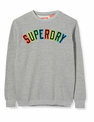 Superdry Men's New House Rules Applique Crew Sweatshirt