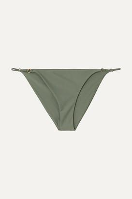 JADE SWIM Aria Bikini Briefs - Army green