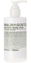 Malin+Goetz Lime Hand + Body Wash Pump in Neutral.
