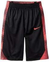 Nike Dry Avalanche Print Basketball Short Boy's Shorts