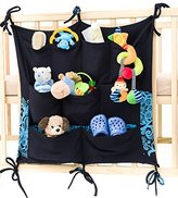 Keep Baby Room Clean & Tidy w/ Cool Babypeta Stylish Organizer - Hanging Changing Nursery Organiser for Toys, Diapers, Pacifiers & Other Baby Items, Fits Baby Cribs & Changing Tables