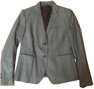 Mauro Grifoni Grey Wool Jacket for Women