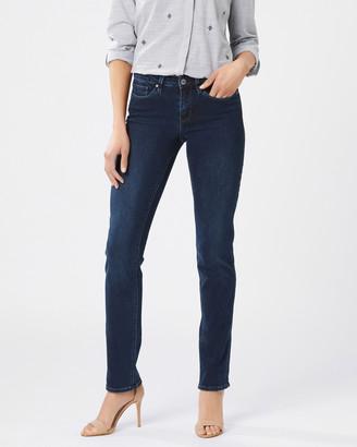 Jeanswest Slim Straight Jeans Deep Sea Blue