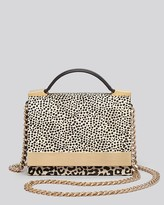 B Brian Atwood Crossbody - Ava Calf Hair Top Handle
