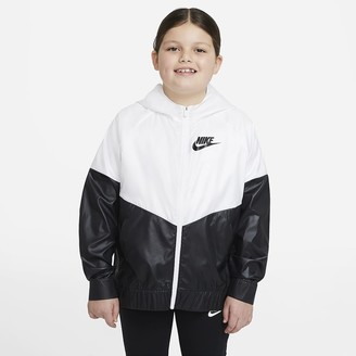 Nike Big Kids' (Girls') Jacket (Extended Size Sportswear Windrunner