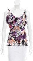 Diane von Furstenberg Sleeveless Printed Top