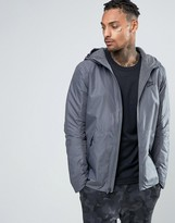 Nike Hooded Jacket In Grey 806854-021