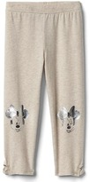 Gap babyGap | Disney Baby Minnie Mouse keyhole stretch terry leggings