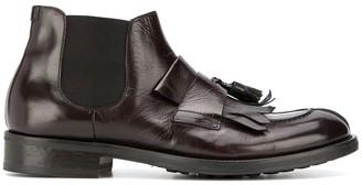 Doucal's Tassel Trim Chelsea Boots