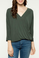 Everly Longsleeve Wrap Top