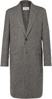 Maison Margiela Houndstooth Wool-Blend Coat