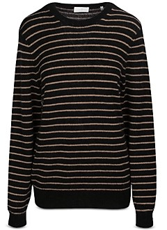 7 For All Mankind Striped Mohair Sweater