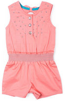 Little Lass Sleeveless Romper - Baby