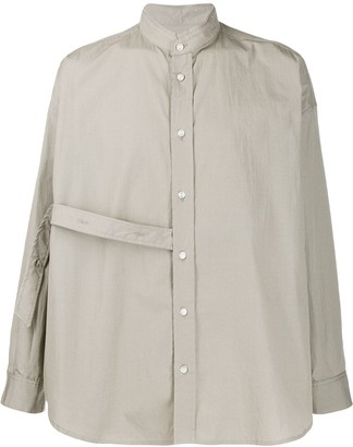 Damir Doma Loose-Fit Strap Detail Shirt