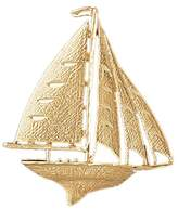 Clevereve 14K Gold Pendant Sailboat 6.8 - Gram(S)