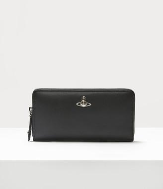 Vivienne Westwood Florence Zip Round Wallet Black