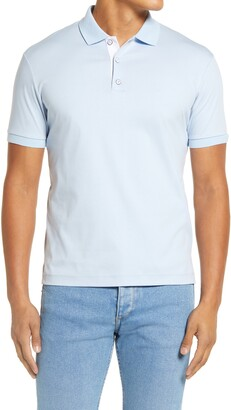 Rag & Bone Short Sleeve Interlocked Polo Shirt
