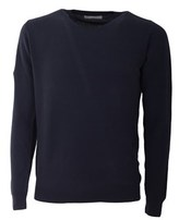 Daniele Fiesoli Men's Blue Cotton Sweater.
