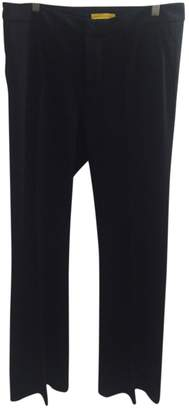 Catherine Malandrino Black Cotton Trousers for Women