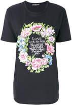 Alexander McQueen floral motif T-shirt
