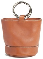 Simon Miller Bonsai Pebbled Leather Bucket Bag - Brown