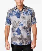 Tasso Elba Men's Floral Short-Sleeve Shirt, Only at Macy's
