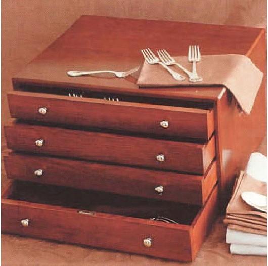 Christofle Majestic 144-Pc. Flatware Storage Chest