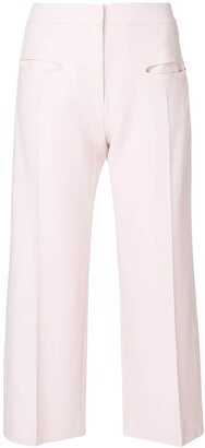 Carven Wide Leg Cropped Pants
