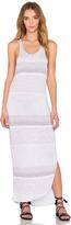 Stateside Crinkle Auto Stripe Tank Dress