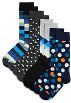Happy Socks Patterned Socks, Pack of 4