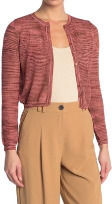 M Missoni Knit Button Front Cardigan