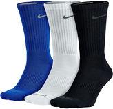 Nike 3-pk. Dri-FIT Crew Training Socks