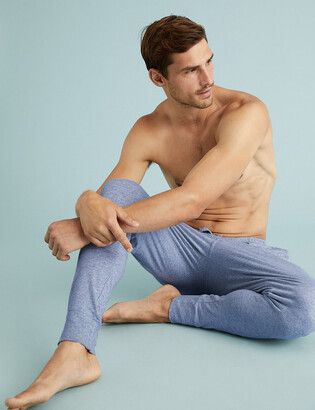 Marks and Spencer 2 Pack Pure Cotton Cuffed Pyjama Bottoms