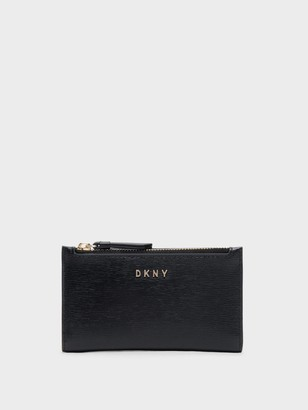 DKNY Small Textured Bifold Wallet