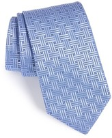 Eton Men's Geometric Silk Tie