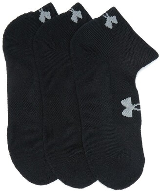 Under Armour HeatGear Quarter Cut Socks - Pack of 3