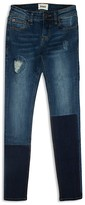 Hudson Girls' Ripped & Repaired Skinny Jeans - Sizes 7-16