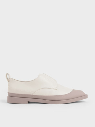 Charles & Keith Glossy Finish Loafers