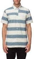 Tavik Men's 'Shin' Stripe Oxford Shirt