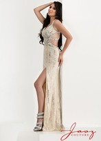 Jasz Couture - 5819 Dress in Nude