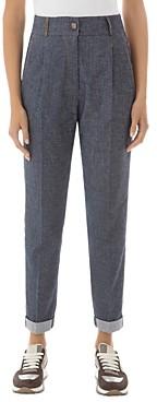 Peserico Roll-Cuff Pants
