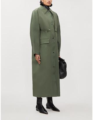 Selfridges Reversible waxed cotton trench coat