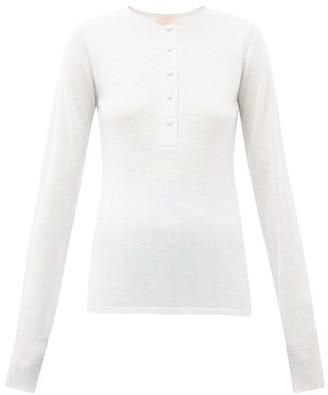 Roksanda Rishi Merino-wool Top - Grey